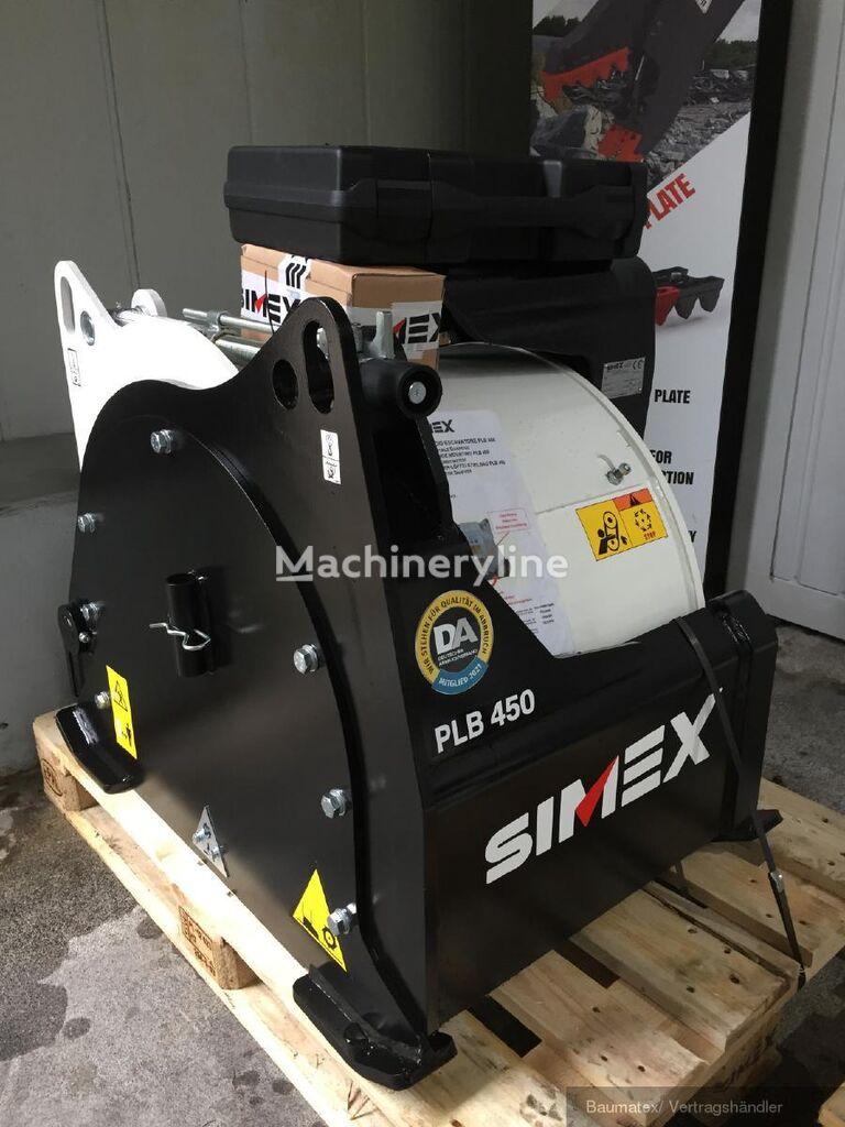 cortador de tambor SIMEX Asphaltfräse PLB 450 für Bagger novo
