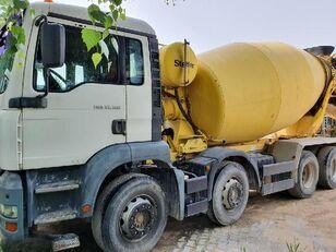 camião betoneira Stetter  no chassi MAN 35.300
