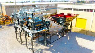 central de betão FABO TURBOMIX-120 MOBILE CONCRETE PLANT READY IN STOCK novo
