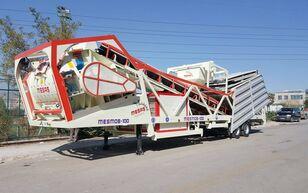 central de betão MESAS 100 m3/h MOBILE Concrete Batchıng Plant novo