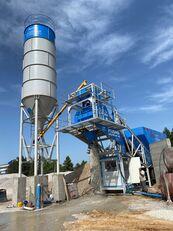 central de betão Plusmix 60m³/Hour MOBILE Concrete Plant - BETONNYY ZAVOD novo