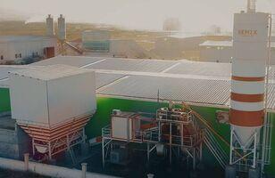 central de betão SEMIX Stationary 100 STATIONARY CONCRETE BATCHING PLANTS 100m³/h novo