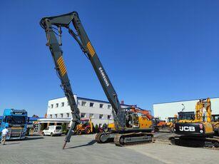 escavadora de demolição SAMSUNG-VOLVO SE 450 LC3 / DEMOLITION HAMMER3 GRIPPERS / 1 NEW / LOW HOURS / V