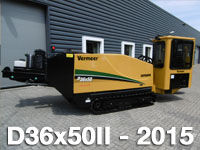 máquina de perfuração horizontal VERMEER  D36x50II