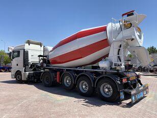 semi-reboque betoneira ALIM mixer semi trailer concrete mixer semi-trailer novo