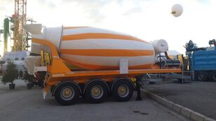 semi-reboque betoneira SEMIX novo