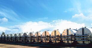 silo de cimento MARINI tankFALT - система термоизолированных резервуаров и трубопроводо novo