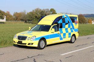 ambulância MERCEDES-BENZ E280 hochlang BINZ